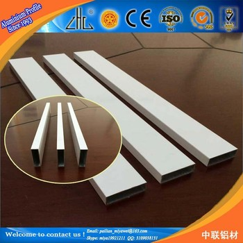 Can You Powder Coat Aluminum >> Famous Brand Zhonglian Factory Supply Aluminium Square Tube Standard Size 100x100 White Powder Coated Aluminum Tube Buy Powder Coated Aluminum
