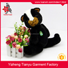 Cheap plush toys customized black squirrel toys wholesale