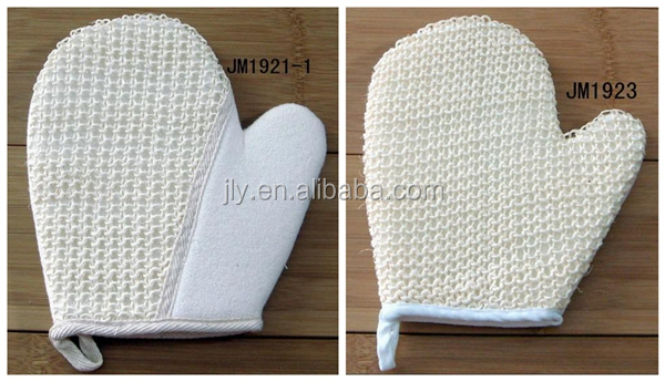 Hot Sale!Man Use Bath Sponge Body Wash Spa Glove/Hemp Body Mitt