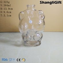 380ml Cat Shaped Glass Bottle Special Glass Wine Bottle For Champagne