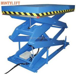 hot sale CE stationary lifting platform indoor lift table hydraulic homemade scissor lift