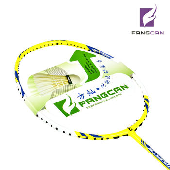 Wholesale graphite badminton rackets one piece unstring without cover