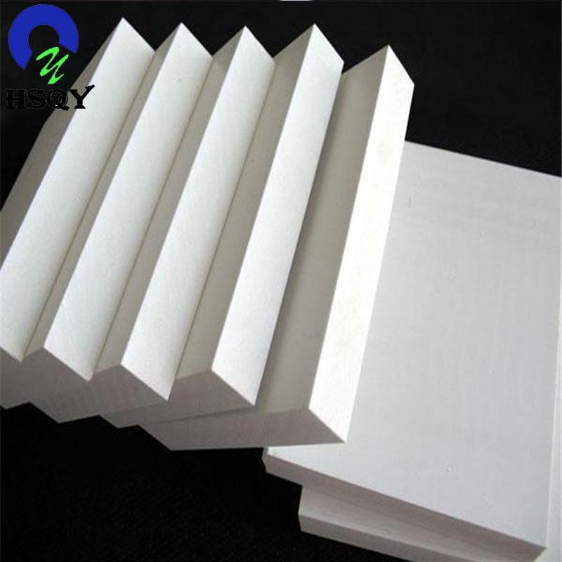 Pvc foam board white 1.22x2.44 used for stairs airplane