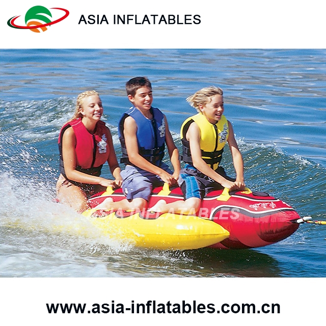 Inflatable banana raft for children and adults Rowing Boats inflatable banana boat for river and lake summer
