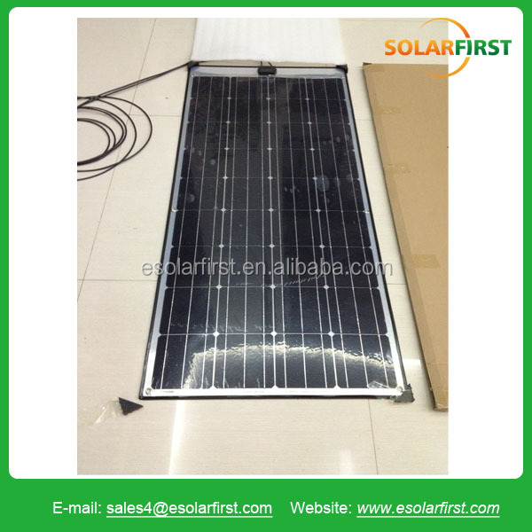 90W high quality water proof monocrystalline silicon flexible solar panel