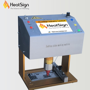 HeatSign New High Quality Easy Use Metal Name Plate Stamping Machine