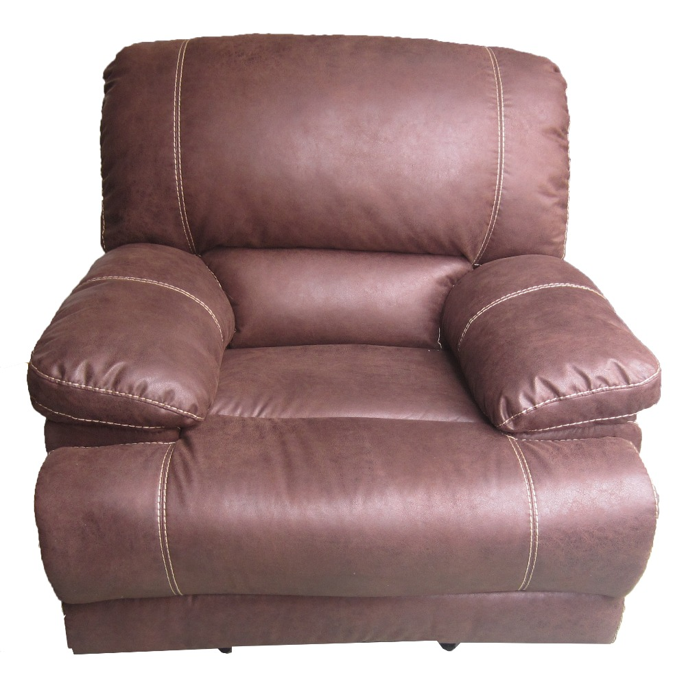 Used Bonded Leather Recliner Sofa Set Single Recliner Buy Room