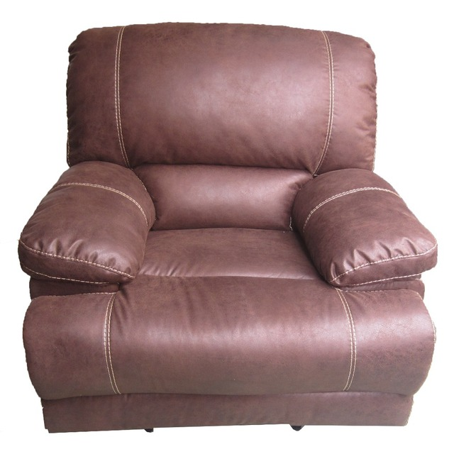 Used Bonded Leather Recliner Sofa Set