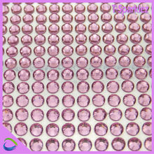 Rose Plastic adhesive crystal sheet for flooring