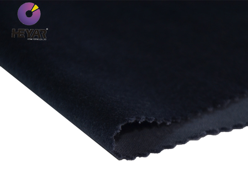 hot sale solid 100 cotton velvet fabric for dress