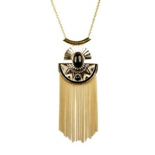 Classic trendy tassel pendant necklace, my style jewelry, export my style fashion jewelry