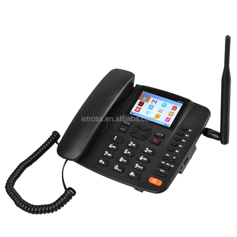 New desktop android wifi 3g fwp/wcdma 3g fixed wireless phone
