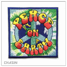Fashion colorful embroidered iron patch for clothing