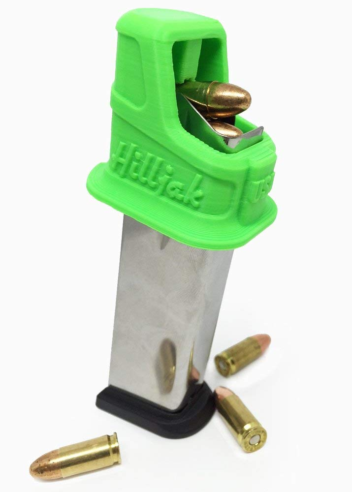 Hilljak Springfield Armory XD, XD(M), XD Mod 2, 45 ACP Double-Stack Magazine Loader - Neon Green