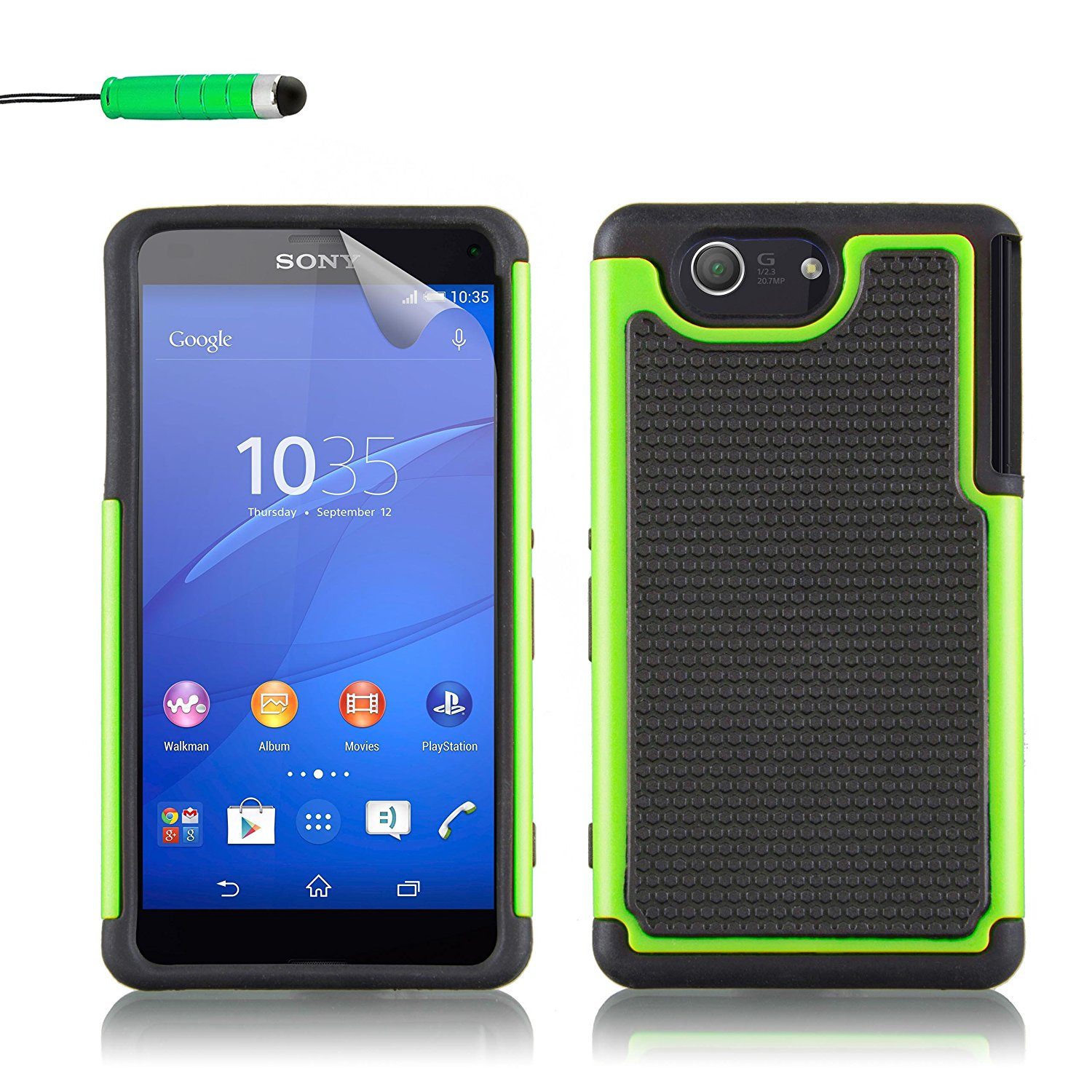 Cheap Dual Touch Screen Computer Find Lg Optimus L5 Ii E 455 4 Gb White Get Quotations Sony Xperia Z3 Compact Case By 32nd Shockproof Defender Heavy Duty Tough Cover