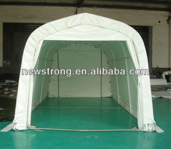 g nstige pvc plane mobile carport garage dach. Black Bedroom Furniture Sets. Home Design Ideas