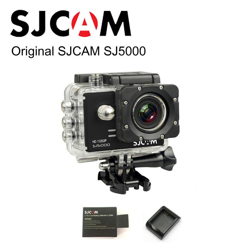 100% Оригинальный бренд SJ5000 SJCAM Спорт Действий Камеры 1080 P Full HD 14MP CMOS Водонепроницаемая sj cam + Дополнительная 1 шт. Аккумулятор + зарядное устройство