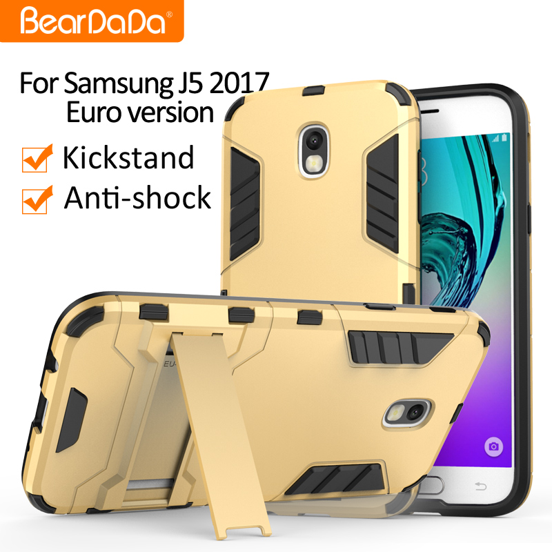 Shockproof kickstand phone case for galaxy j5 2017 EU version cover,for galaxy j5 2017 EU version case