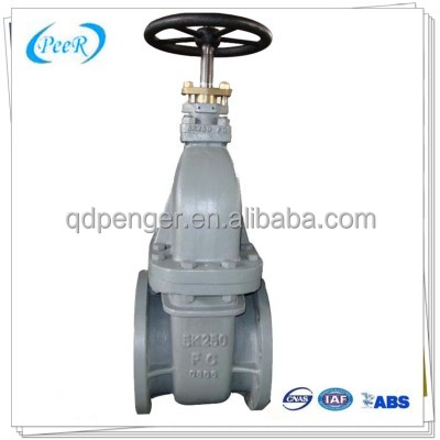[PEER Manufacturing] Manual Operated Casting Iron stem gate valve