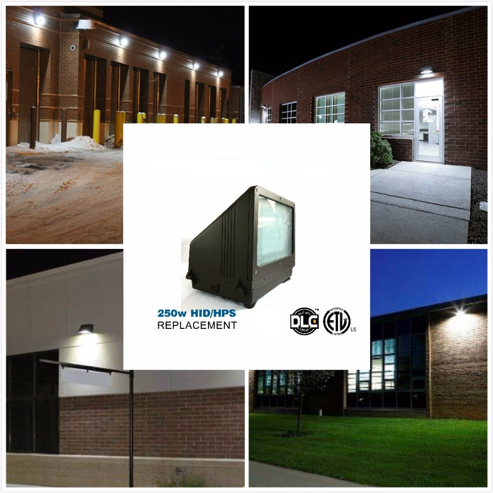 IP66 Modern LED exterior ETL Wall pac lights