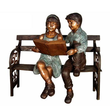 Remarkable Bronze Boy And Girl Sitting On Bench Statue Bronze Bench Sculpture Buy Bronze Bench Sculpture Bronze Sitting Man Sculpture Outdoor Bronze Sculpture Pabps2019 Chair Design Images Pabps2019Com