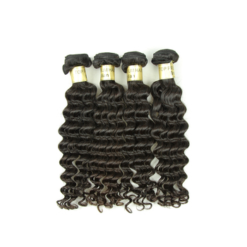 Within 24 Hours Delivery Deep Wave Human Hair 8A Brazilian Hair Bundles