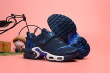Nike Air Max Tn обувь для детей Оригинал Новое поступление Детские кроссовки удобные спортивные кроссовки(Китай)