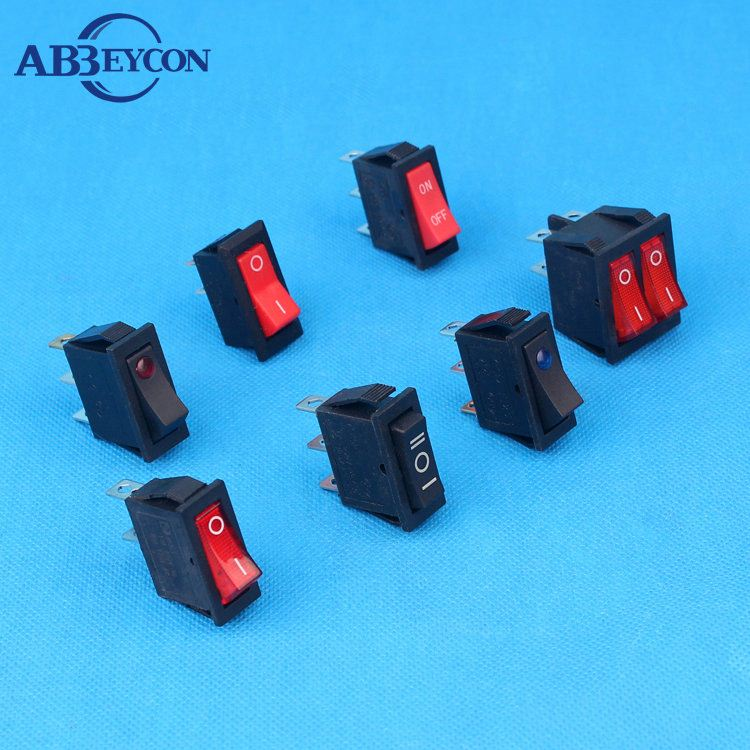 rocker switch 20a 125v 15a 250v KCD3-3101