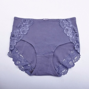 Free Sample New Coming High Quality Plus Size Cotton Free Sample Womens Thong Panties