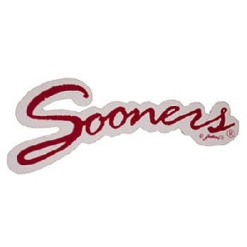 NCAA Oklahoma Sooners Car Magnet Sm Sooners (Small, 2 Pack)