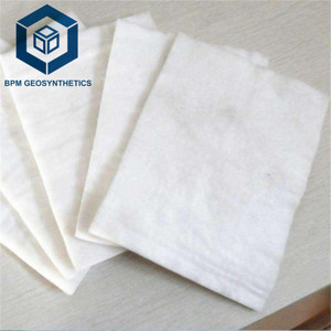 soil filter fabric ppt non woven geotextile 300g m2