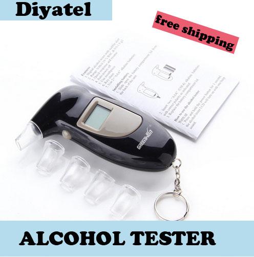 2015 новое поступление цифровой алкоголя в выдыхаемом воздухе алкотестер полиция бесплатная доставка