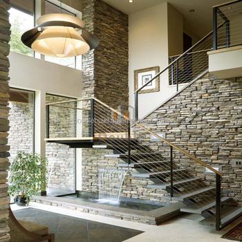 Great Conception Simple Intérieur Préfabriqué Escalier/escalier Pour Votre Maison/ Villa