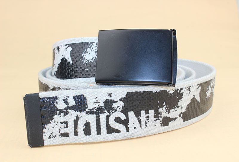 Printing square buckle webbing belts