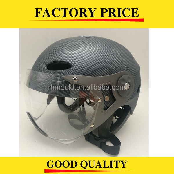 Best quality factory price water sport helmet with visor, water ski helmet with visor