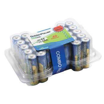 Golden Power Promotion Battery Pack AA AAA Alkaline Battery 1.5V Dry Battery