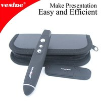 2012 hotselling!wireless laser projector presenter vp100 red laser for business gift pen