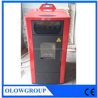 2015 new cast iron wood Pellet burning stove for sale, pellet stove with boiler