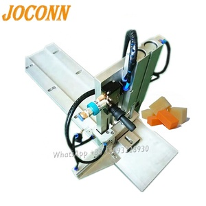 Industry Soap Plodder Machine,Bar Soap stamping wrapping soap bar pleat making machine low price