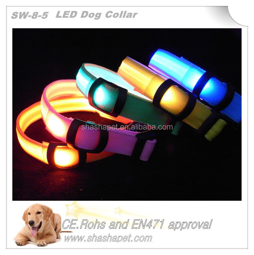 Innovative products for sell led collar <strong>dog</strong> with <strong>dog</strong> collar
