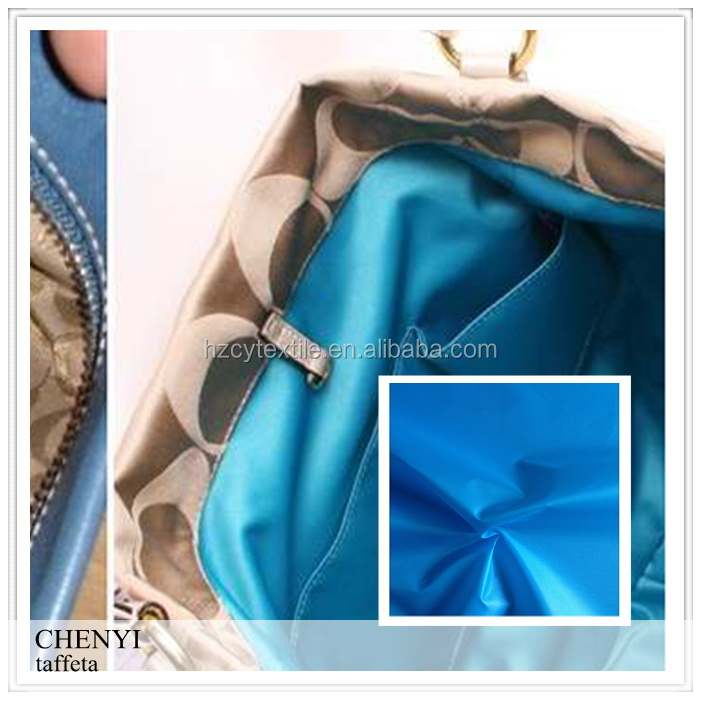 High quality textile china bag fabric materials