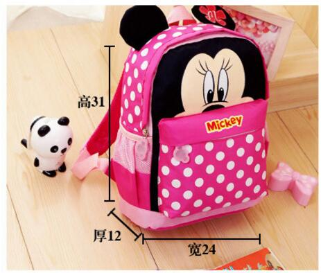 d9094139c07b New Cartoon Mickey children backpacks Minnie kids kindergarten backpack  school bags Boys Girls Satchel