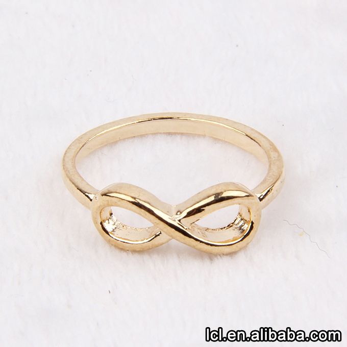 From China Imitation Gold Rings Without Stones Women Hot Sale