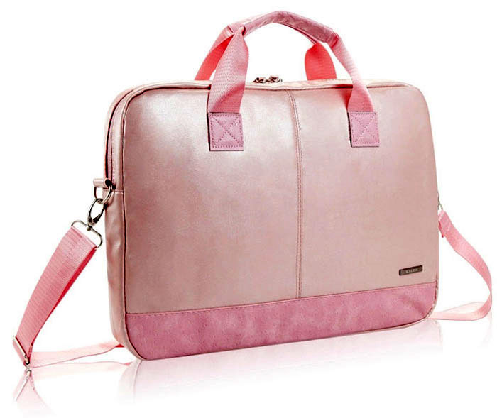 Hot pink laptop bag, slim laptop case for 15.6 inch laptop, Fashion Women Messenger Bags, Brand women style laptop bags