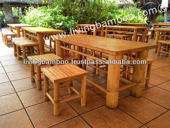 Mobili In Bambu.Binh Quoi 2 Set Di Bambu Mobili Da Giardino Buy Di Bambu Set Da Pranzo Mobili Da Giardino Set Lowes Patio Mobili Mobili Di Bambu Per Esterni Product