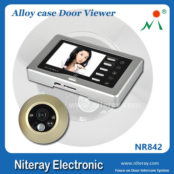 Mini puerta mirilla de la c mara con sensor de movimiento - Mirilla con camara ...