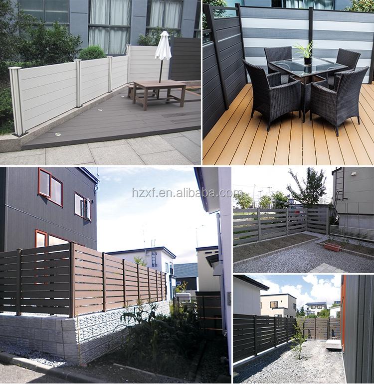 Durable Wpc Zaun Weiss Balkon Gunstige Holz Zaun Grosshandel Holz Zaun