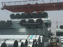 bs1139 pre galvanized steel pipe with 2.75 mm thickness