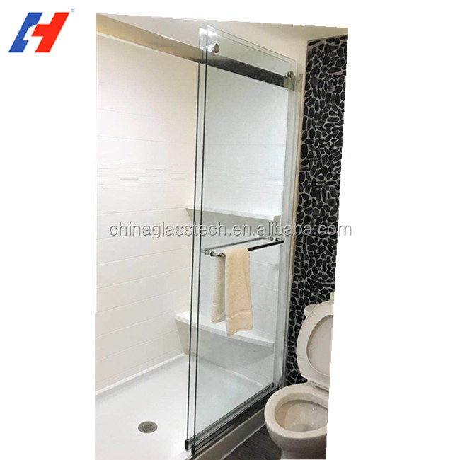Glass Shower Door Plastic Seal Strip Adhesive Wholesale Strip