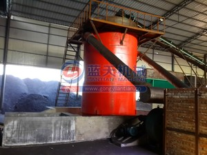 Industrial drying machine pillow shape briquettes coal vertical dryer
